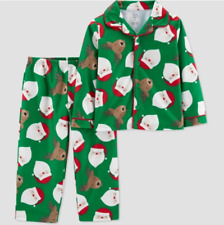 2T Baby Boy's Santa Claus/Reindeer 2pc Pajama Set -Just One You by Carter's  NEW