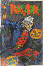 Malibu Comics Raver #1  Walter Koenig creator and writer.  Dan & David Day art