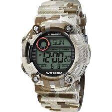 Orologio DIADORA STORM DI-017-03 Camo Brown Chrono Timer Sveglia Alarm WR 100mt