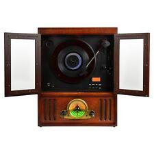 MAJESTIC TT40 GIRADISCHI VINILE STILE RETRO' LETTORE CD MP3 USB ENCODER CASSETTE