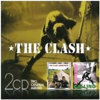 THE CLASH - LONDON CALLING/COMBAT ROCK 2 CD 31 TRACKS PUNK ROCK NEU