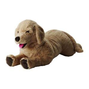 "IKEA Stofftier Hund ""GOSIG GOLDEN"" Kuscheltier Golden Retriever - 70cm"