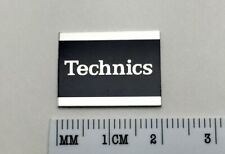 1x Technics Logo Emblem Schild für HiFi Lautsprecher