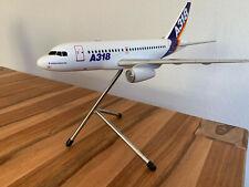 Airbus A318 Flugzeug Modell 1:100 Sammlerstück sehr selten