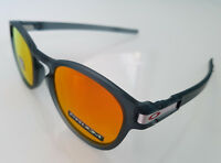 Oakley Latch Grid Collection OO9265-4153 Matte Crystal Black/Prizm Ruby NEW