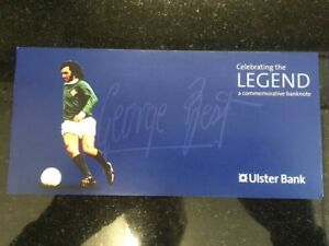 GEORGE BEST FIVE POUND NOTE WALLET - WALLET ONLY