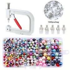 Pearl Setting Machine Tools,Pearls Rivet Buttons DIY Handmade Beads Accessories