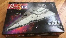 Milton Bradley Puzz 3D Star Wars Imperial Star Destroyer 823 Pieces Puzzle
