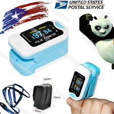 CONTEC Fingertip Pulse Oximeter,Blood Oxygen Spo2,Free Case,Lanyard,SPO2,PR USA