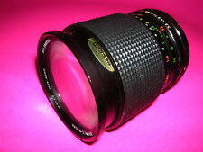 CANON MOUNT GEMINI 28~80 MACRO ZOOM LENS SMOOTH FOCUS AND ZOOM SOLD AS PARTS