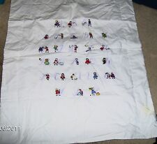 BABY'S EMBROIDERED ABC 100% Cotton BLANKET