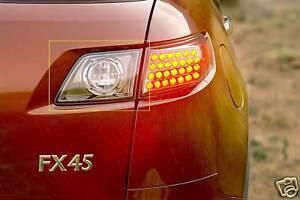 INFINITI FX35 FX45 OEM SPORT REAR BACK UP LAMPS 03-08