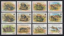 Somalia (J. Soomaaliya) - Michel-Nr. 432-443 postfrisch/** (WWF Wildtiere)