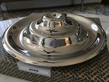 New In Box ALESSI Ondula Fruit Bowl Rare Chrome Achille Castiglioni Kartell Flos