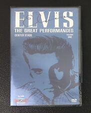 Elvis The Great Performances Volume 1: Center Stage DVD NEW SEALED