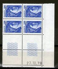 TIMBRE N° 1963 NEUF XX - COIN DATE DU 27-10-78 - TTB - SABINE DE GANDON