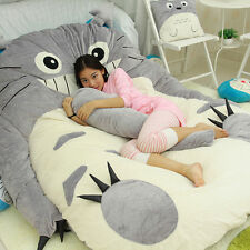 Hot Cute Huge Giant Totoro Bed Carpet Tatami Mattress Sofa Filled Kids Gift Toys