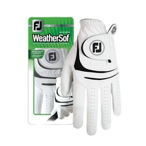 Footjoy Ladies Weathersof Golf Gloves left hand for right hand golfer 67860
