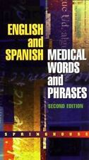 English and Spanish Medical Words and Phrases-ExLibrary