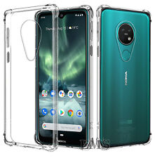 For Nokia 6.2 /7.2 Heavy Duty Tough Gel Ultra Clear Shockproof Bumper Case Cover