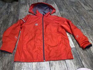 •MOOTO Hood Zip Jacket Red Full Zip Martial Arts Size 160 (2) Adult Small