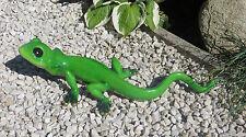 XL große Echse 50cm, wetterfeste Garten Teich Pool Dekofigur Figur Eidechse
