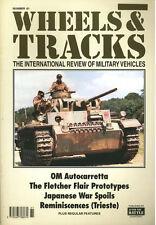 WHEELS & TRACKS 61 ITALIAN OM AUTOCARRETTA / JAPANESE WAR SPOILS / HARLEY DAVIDS