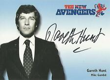 """The New Avengers - N-A3 Gareth Hunt """"Mike Gambit"""" Autograph Card"""