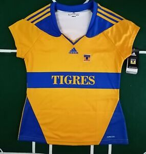Tigres UANL Jersey Local for women size L Large ( 12-14)  NWT