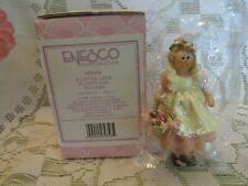 New Old Stock! Enesco 1999 Donna Little Flower Girl Figurine