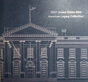 2007 United States Mint American Legacy Collection Silver Coins - ii