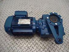 SEW-EURODRIVE SA57/TDRE80M4 60HZ RPM1740/21 1HP 230/460V 2.90/1.44A