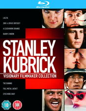 Stanley Kubrick Visionary Filmmaker Collection [Blu-ray Box Set Region Free] NEW