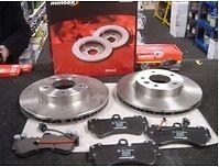 FOR PORSCHE CAYENNE VW TOUAREG AUDI Q7 BRAKE DISC BRAKE PADS FRONT