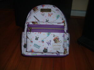 LOUNGEFLY WEASLEY WIZARDING MINI BACKPACK~ WITH TAGS~BRAND NEW~ HARRY POTTER~~