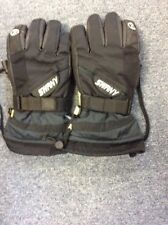 Mens Swanky Plex Leather Nylon Snow Ski Gloves Size Medium Vgc