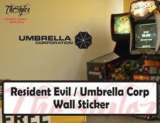 Resident Evil / Umbrella Corporation Wall Vinyl Sticker