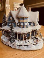 New ListingThomas Kinkade Hawthorne Village Holiday Bed & Breakfast Christmas Collection