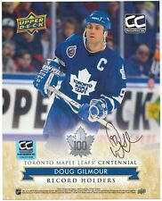 Doug Gilmour Toronto Maple Leafs Autographed 8 x 10 Photo With COA By CNC