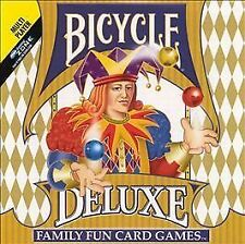 Bicycle Deluxe Family Fun Card Games (Jewel Case) Activision Inc. CD-ROM