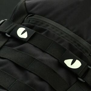 WOLF EYES PATCH TACTICAL MORALE MILITARY MOLLE FASTENER PANEL GLOW IN THE DARK