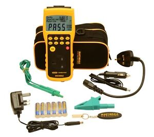 Martindale HPAT600/2 PAT Tester with Adjust Pass Limit & Memory 2 Yr Warranty