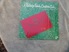 THE PARTRIDGE FAMILY - Christmas Card - 1972 - Bell 6066 -SHRINK  VG/EX