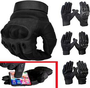 Summer Short Motorbike Gloves Tactical Hunting Military Police Paintball