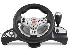 RS600 Volant de course avec pédales PS3/PS2/USB/PC jeux games ordinateurs 4 in1