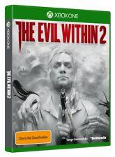 Evil Within 2 Xbox One Xb1 Australian Stock Aiega