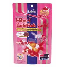 Hikari Goldfish Gold 3.5 oz | Floating Type Baby Pellet | Color Enhancing Food