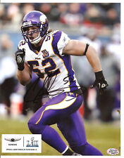 CHAD GREENWAY Vikings 8X10 Autographed Promotional Photo with BDS COA #3063