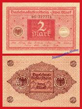 ALEMANIA GERMANY 2 Mark marcos 1920 Pick 59 SC / UNC