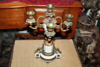 Vintage Victorian Style 4 Arm Candelabra Candle Holder #2 Holds 5 Candles